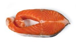 красный цвет рыб свежий Семги Стоковое Фото