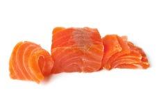 красный цвет рыб свежий Семги Стоковое Изображение