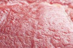 красный цвет свежего мяса Стоковое Фото