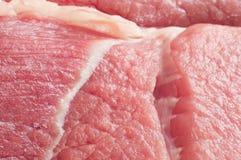 красный цвет свежего мяса Стоковая Фотография RF