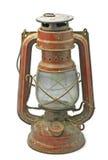 красный цвет светильника старый Стоковая Фотография RF