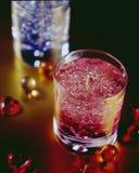 красный цвет свечки Стоковое фото RF