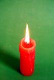 красный цвет свечки Стоковые Изображения