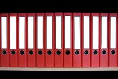 красный цвет связывателя Стоковое Изображение