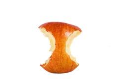 красный цвет сердечника яблока Стоковое Изображение RF