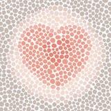 красный цвет сердца предпосылки Стоковая Фотография