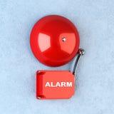 красный цвет сигнала тревоги Стоковое фото RF