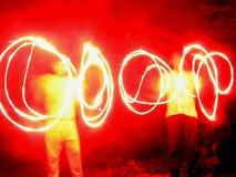 красный цвет силы Стоковые Фото