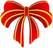 красный цвет смычка Стоковая Фотография RF