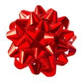 красный цвет смычка Стоковое Изображение RF