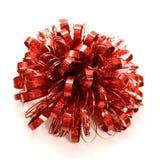 красный цвет смычка Стоковое Фото