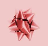 красный цвет смычка Стоковые Фотографии RF