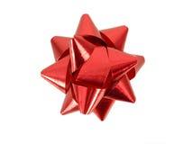 красный цвет смычка Стоковые Изображения RF