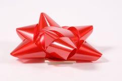 красный цвет смычка Стоковые Изображения