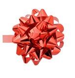 красный цвет смычка Стоковые Фото