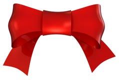 красный цвет смычка иллюстрация вектора
