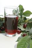 красный цвет сока вишни вишен Стоковое фото RF