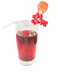 красный цвет сока Стоковые Изображения