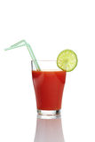 красный цвет сока Стоковые Фотографии RF