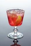 красный цвет стекла коктеила Стоковое Изображение