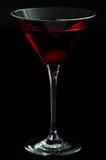 красный цвет стекла коктеила Стоковое Изображение RF