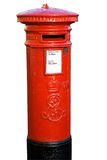 красный цвет столба коробки стоковое фото rf