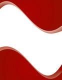 красный цвет страницы плана Стоковая Фотография
