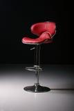 красный цвет стула штанги Стоковое фото RF