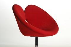 красный цвет стула Стоковые Изображения