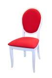 красный цвет стула Стоковое Фото