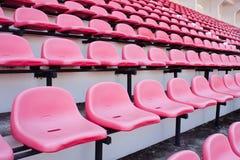 красный цвет стула Стоковое Изображение RF