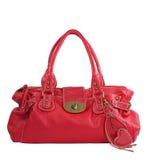 красный цвет сумки Стоковые Фотографии RF