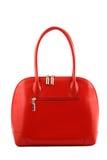 красный цвет сумки Стоковое Изображение