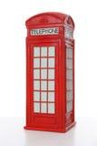 красный цвет телефона будочки великобританский Стоковая Фотография