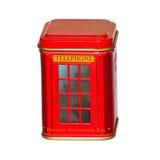 красный цвет телефона будочки Стоковое фото RF