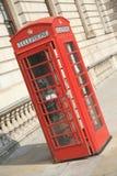 красный цвет телефона будочки Стоковые Фотографии RF