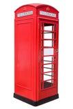 красный цвет телефона коробки Стоковые Изображения RF