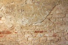 Красный цвет, терракота и белая предпосылка кирпича Старая стена красного Bric Стоковое Изображение