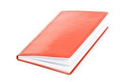 красный цвет тетради Стоковые Фото
