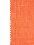 красный цвет ткани пробует текстуру swatch Стоковые Изображения