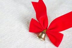 красный цвет ткани Стоковое Фото