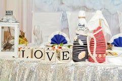 красный цвет торжества миндалин некоторое венчание Стоковые Фото