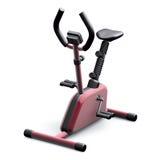 красный цвет тренировки bike Стоковые Изображения
