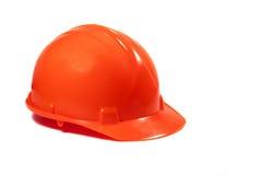 красный цвет трудного шлема Стоковое Фото