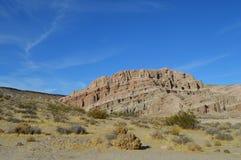 Красный цвет трясет гору Калифорнию утеса каньона Стоковые Изображения RF