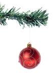 красный цвет украшения рождества Стоковые Фото