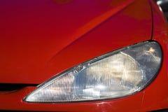 красный цвет фары автомобиля Стоковое Изображение RF