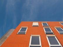 красный цвет фасада Стоковое фото RF