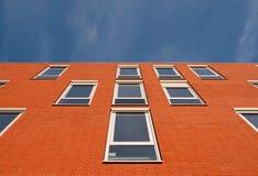 красный цвет фасада Стоковые Изображения RF