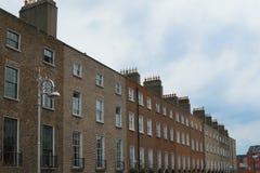 красный цвет фасада здания кирпичей старый Стоковая Фотография
